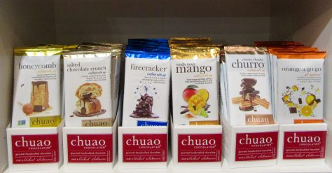 Chuao Bars Display
