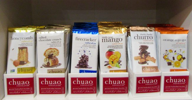 Chuao Bars Display
