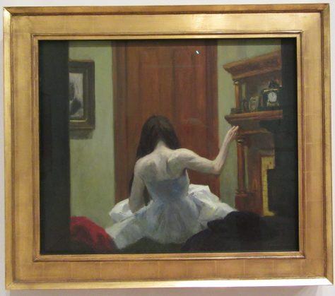 New York Interior By Edward Hopper