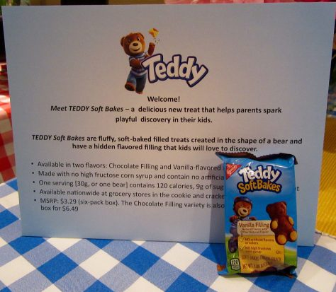 Teddy Soft Bakes with Sign