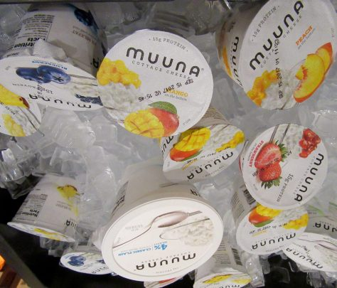 Muuna Cottage Cheese Display