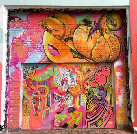 Psychedelic Mural