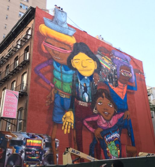Os Gemeos Mural Western Face Week of Sept 23