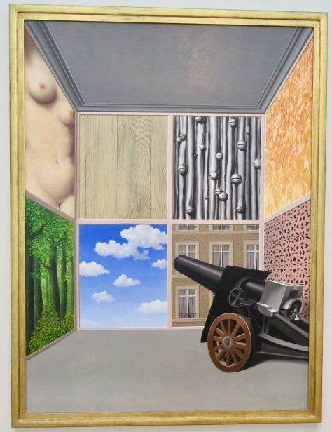 Rene Magritte On The Threshold of Liberty