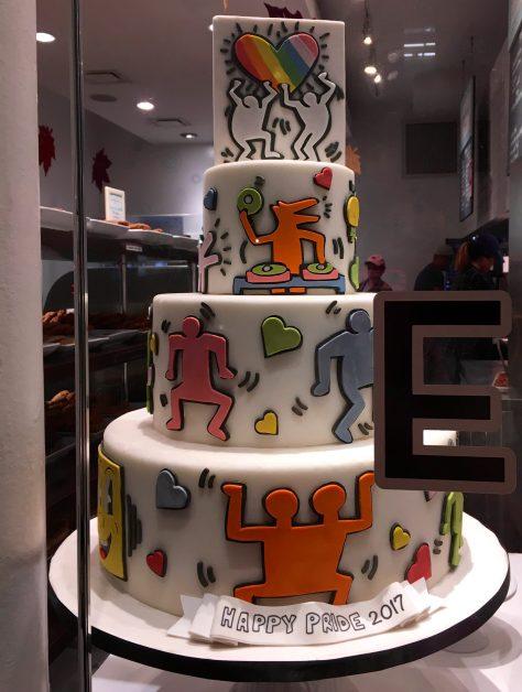 Keith Haring Cake