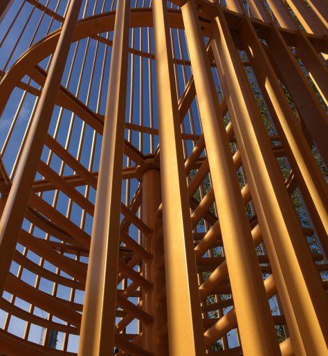 Gilded Cage Central Park Detail
