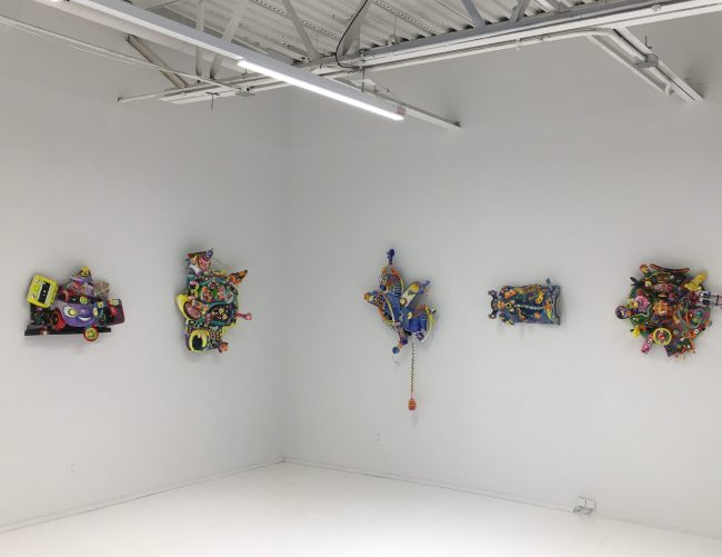 Toy Assemblage Installation View