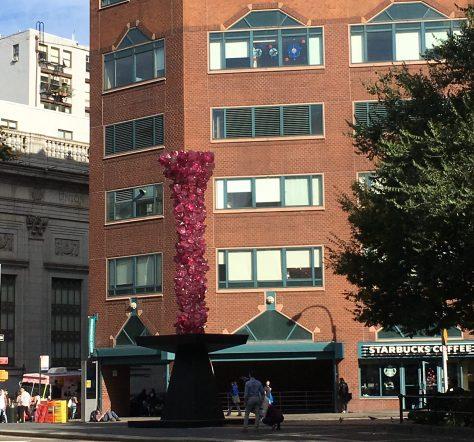 Rose Crystal Tower Daytime