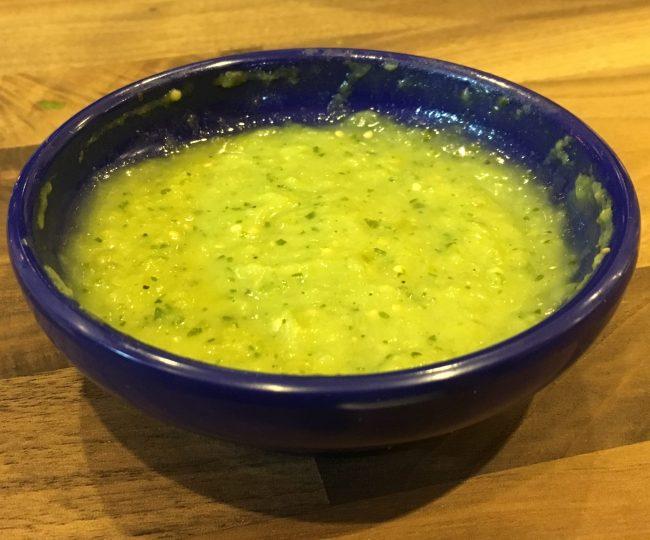 Avocado Salsa Verde