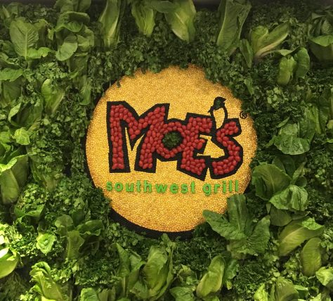 Moes Logo Made from Food