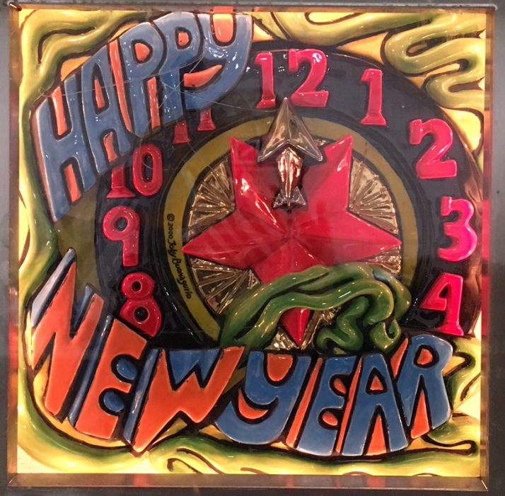 New Years Eve Tile