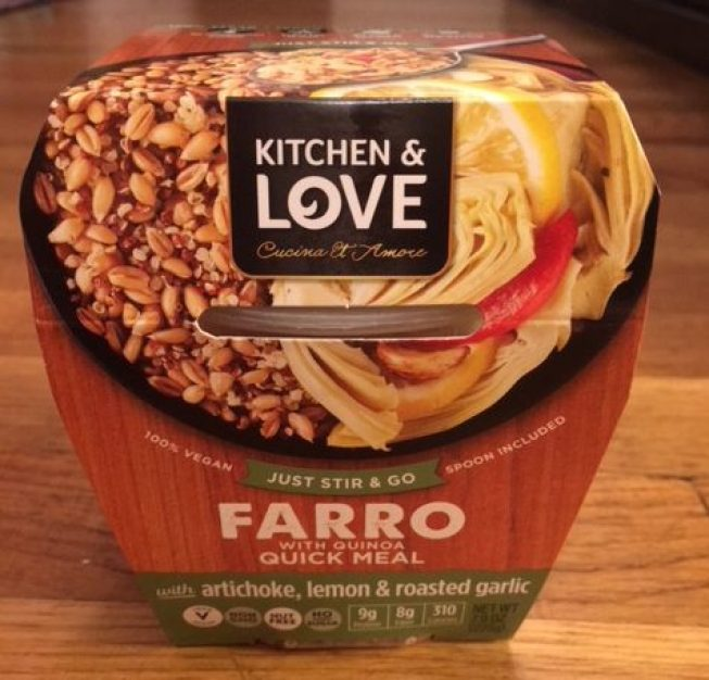 Cucina and Amore Farrow Meal Packaging