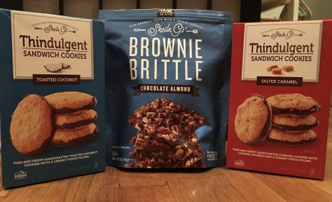 New Brownie Brittle Treats