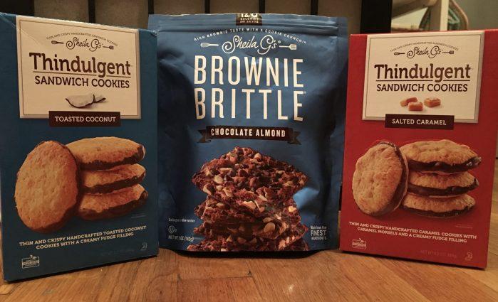 New Brownie Brittle Treats
