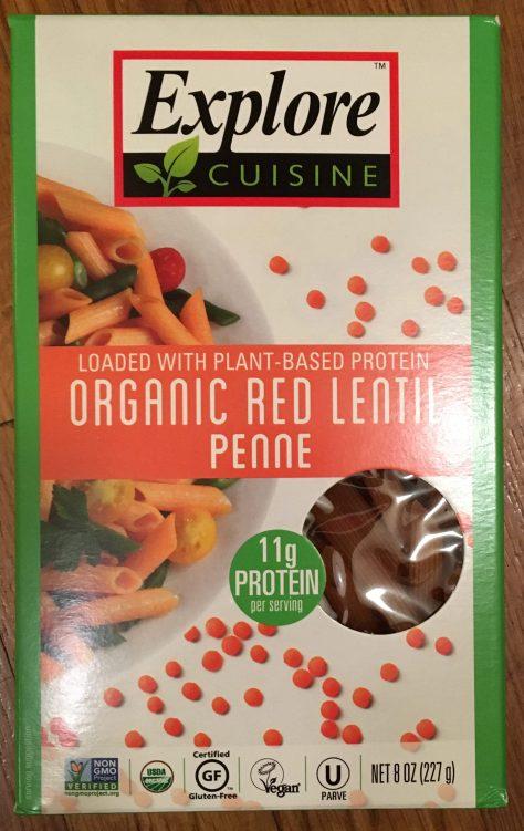 Red Lentil Penne Package
