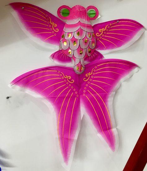 Pink Fish Kite