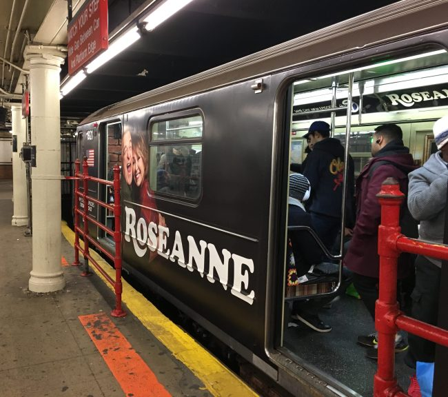 Roseanne Train Car Exterior