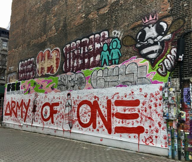 Army of One Mural