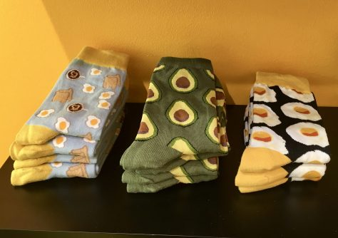 Egg House Gift Shop Socks