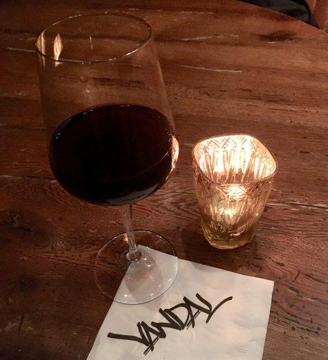 Wine Glass and Napkin
