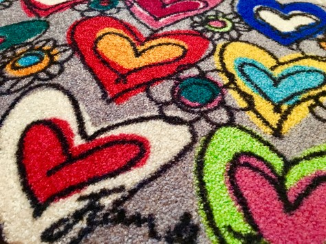 Hearts Patern Detail