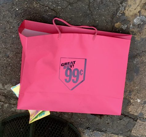 Pink Shopping Bag