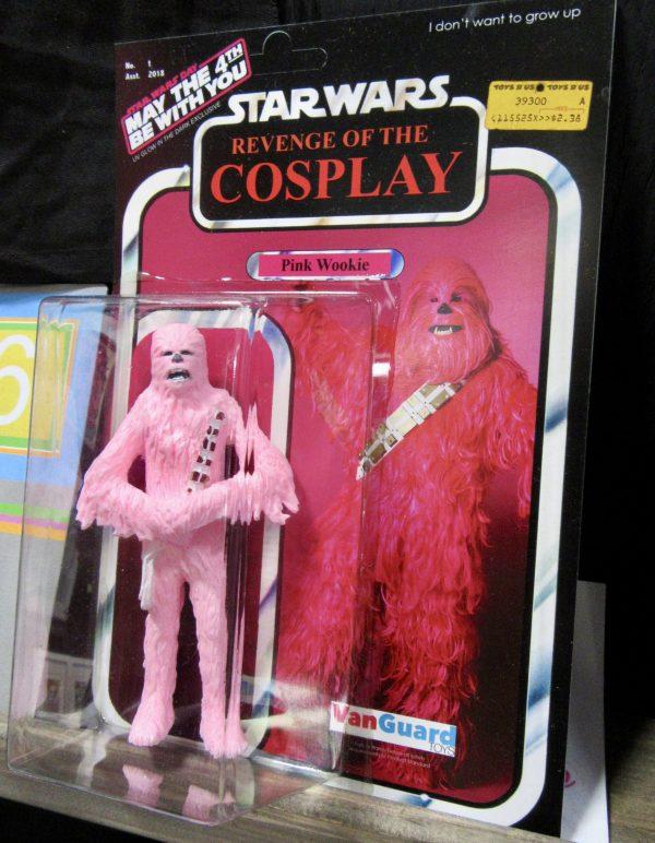 Pink Wookie Cosplayer By Nick C Kirk