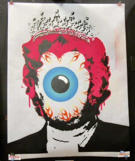Christian Hooker Monroe Eyeball