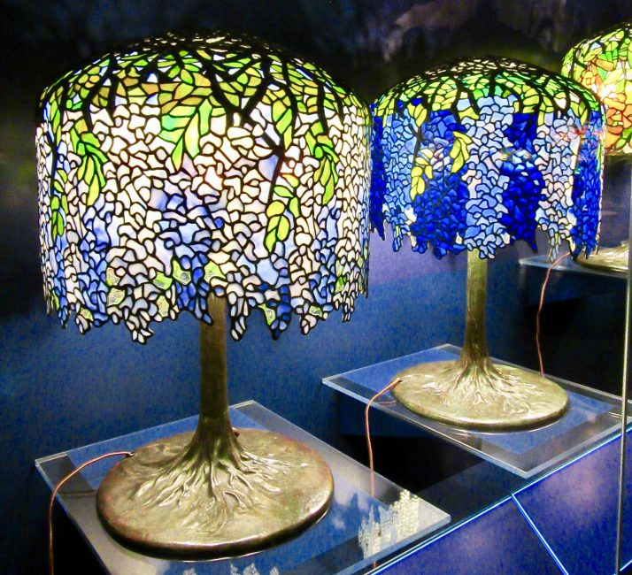 Tiffany Wisteria Lamps