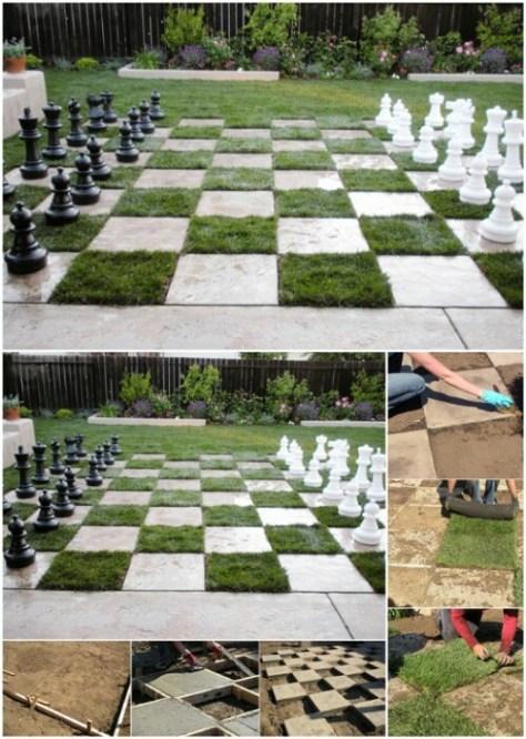 Backyard Chessboard