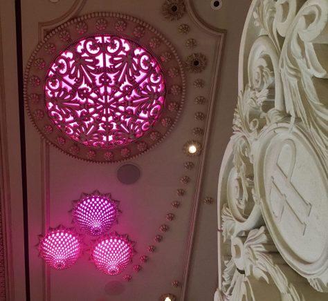 Pink Ceiling Lighting 3
