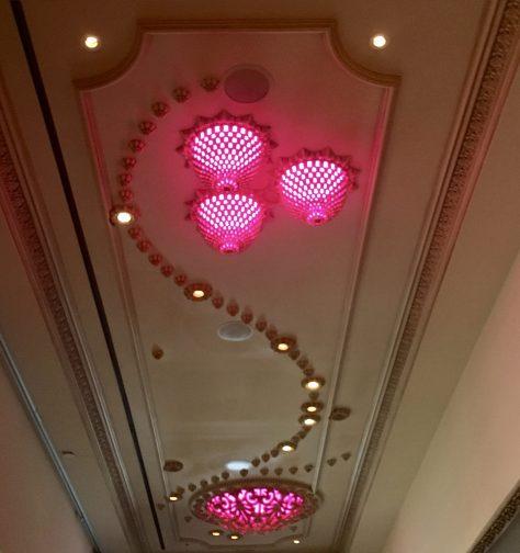 Pink Ceiling Lighting 2