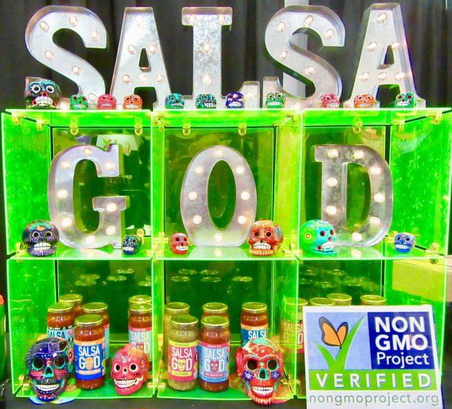 Salsa God Booth Display