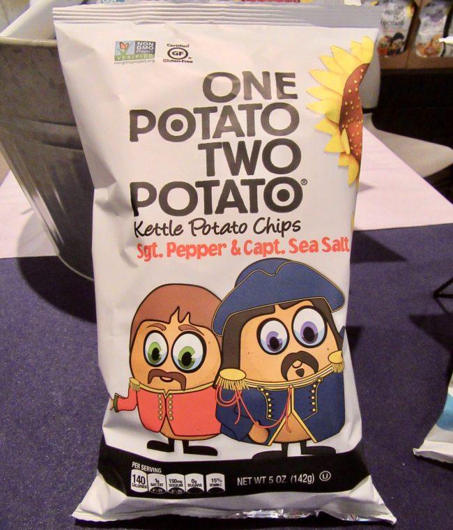 One Potato Two Potato Sgt Pepper Chips