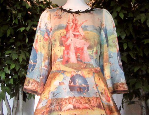 Undecover Mini Dress Detail