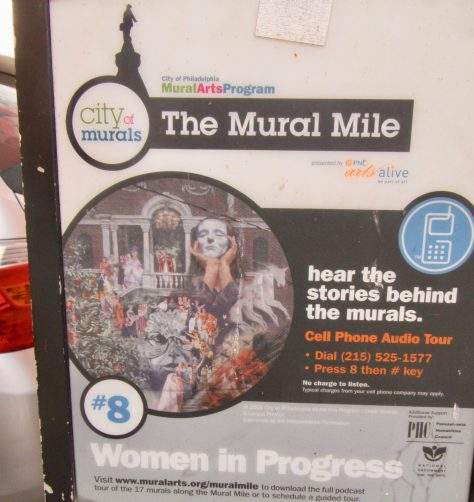 Mural Mile ID Sign