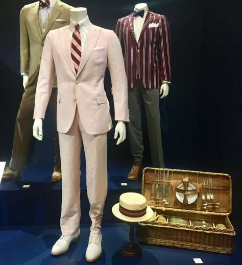 Gatsby Pink Linen Suit