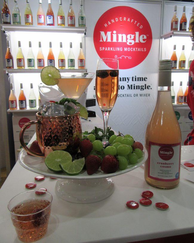 Mingle Sparkling Mocktails