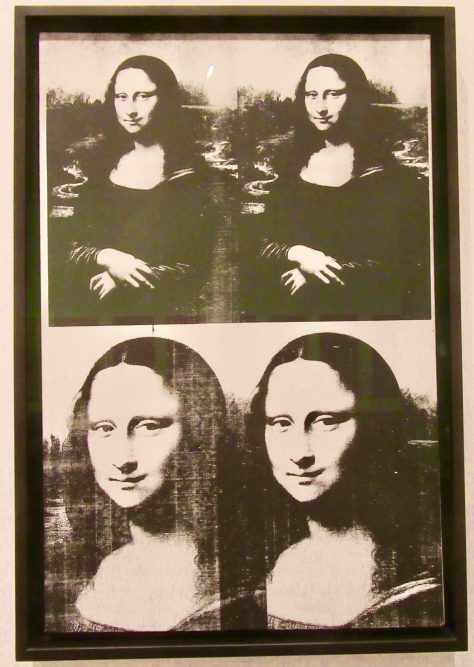 Andy Warhol Mona Lisa