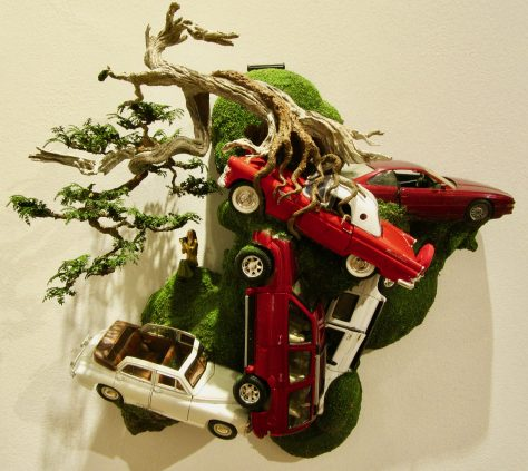 Mixed Media Sculpture By Patrick Bergsma