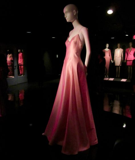Ralph Lauren Evening Gown Side