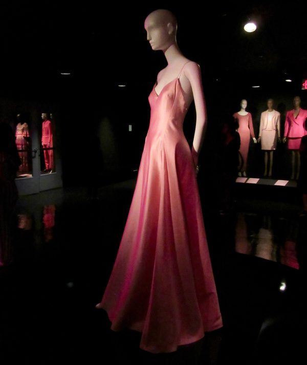 Ralph Lauren Evening Gown Side