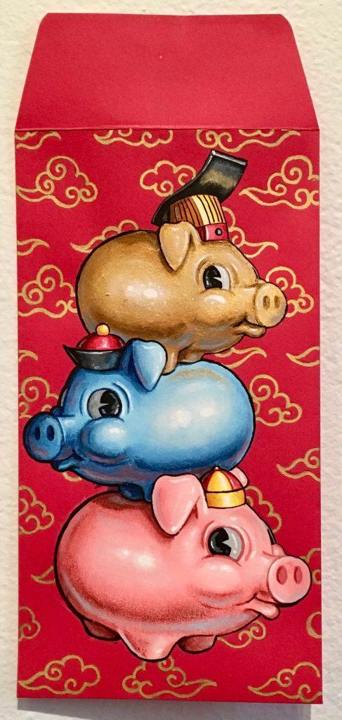 3 Pigs By Matt Stanton