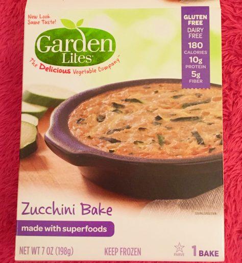 Zucchini Bake Packaging