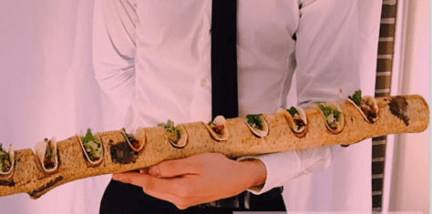 Chicken Tacos on a Branch