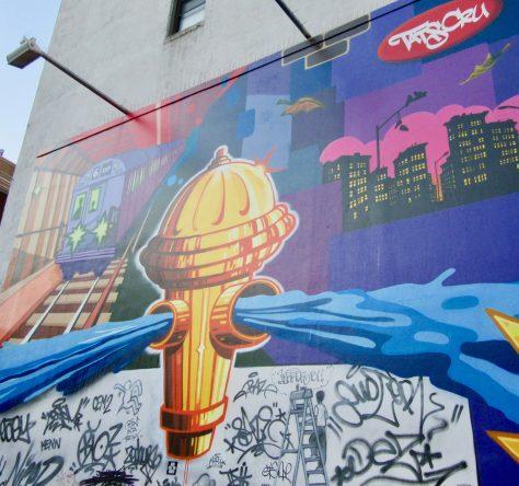Tats Cru Mural Detail