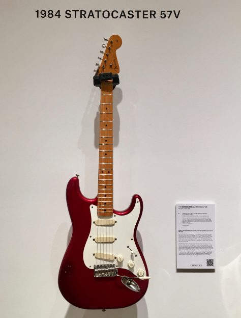 1984 Red Strat