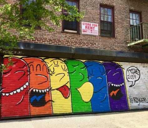 Royce Bannon Pride Mural