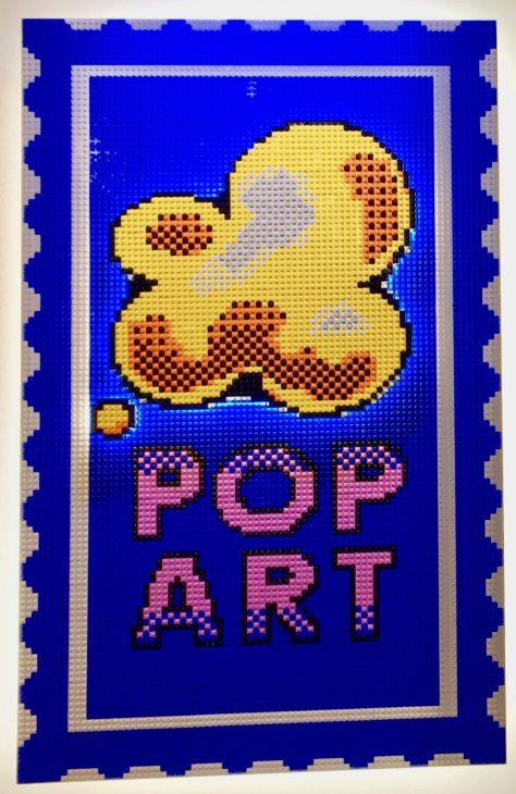 Pop Art Popcorn Signage