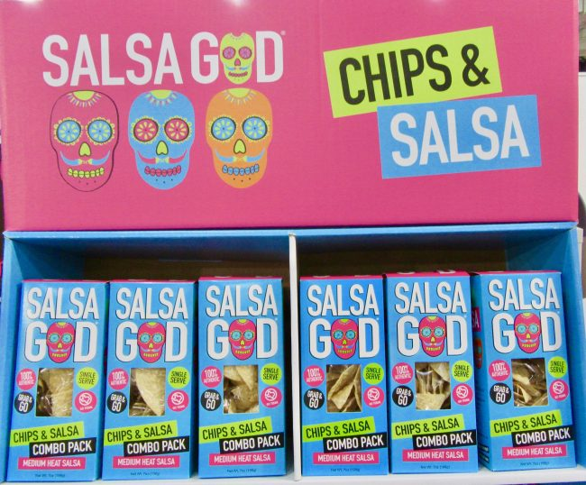 Salsa God Chips and Salsa to Go